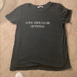 """Zara Trafaluc """"LOVE SHOULD BE OPTIONAL"""" lived in T"""